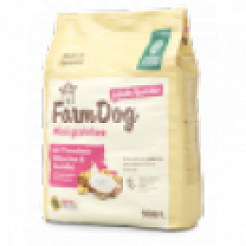 10 FUTTERPROBEN a.90g FarmDog Mini grainfree Adult/Junior