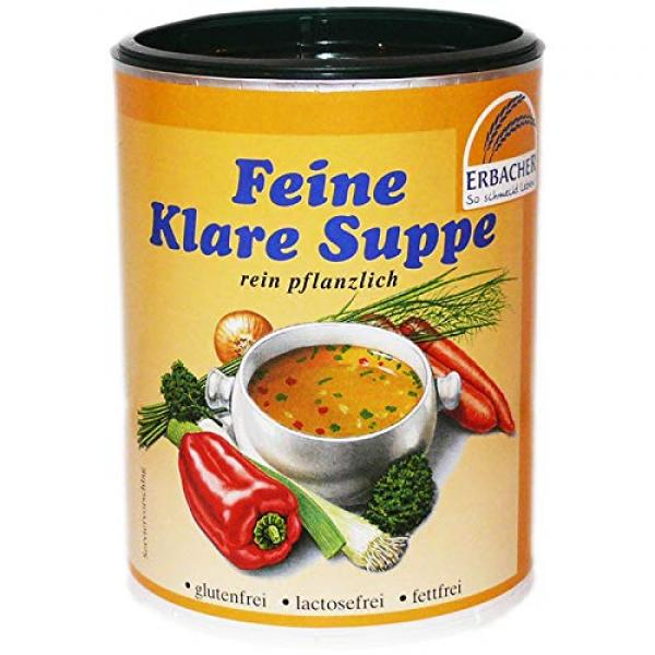 Erbacher - Feine Klare Suppe 600g Dose